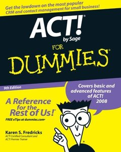 ACT! by Sage For Dummies, 9/e-cover