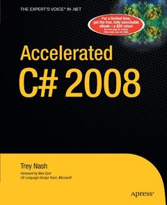 Accelerated C# 2008 (Paperback)-cover