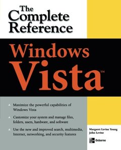Windows Vista: The Complete Reference (Paperback)-cover