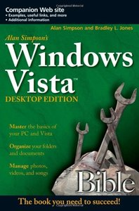 Alan Simpson's Windows Vista Bible, Desktop Edition (Paperback)-cover