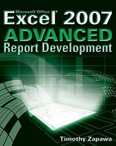 Excel 2007 Advanced Report Development (Paperback)-cover