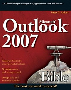 Microsoft Outlook 2007 Bible (Paperback)-cover