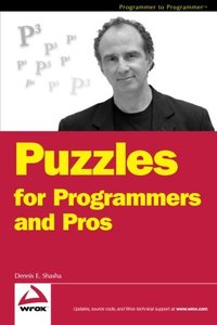 Puzzles for Programmers and Pros (Paperback)-cover