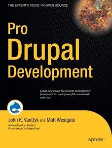 Pro Drupal Development-cover