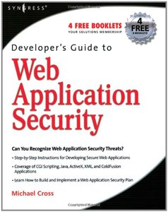 Developer's Guide to Web Application Security-cover