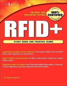 RFID+: CompTIA RFID+ Study Guide and Practice Exam (RF0-001)-cover