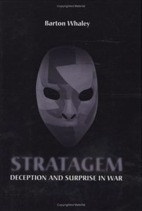 Stratagem: Deception and Surprise in War (Artech House Information Warfare Library)-cover