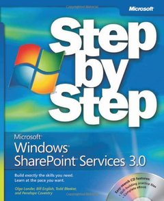 Microsoft Windows SharePoint Services 3.0 Step by Step-cover
