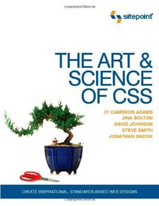 The Art and Science of CSS (Paperback)-cover
