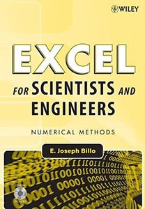 Excel for Scientists and Engineers: Numerical Methods (Paperback)-cover