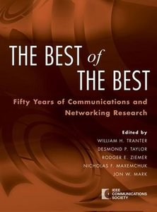 The Best of the Best: Fifty Years of Communications and Networking Research-cover