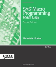 SAS Macro Programming Made Easy, 2/e-cover