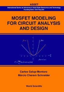 Mosfet Modeling for Circuit Analysis And Design (Hardcover)-cover
