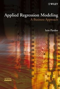 Applied Regression Modeling: A Business Approach-cover