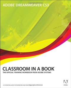 Adobe Dreamweaver CS3 Classroom in a Book (Paperback)-cover