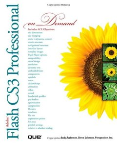 Adobe Flash CS3 Professional On Demand (Paperback)-cover