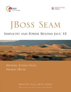 JBoss Seam: Simplicity and Power Beyond Java EE (Paperback)-cover