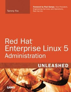 Red Hat Enterprise Linux 5 Administration Unleashed-cover