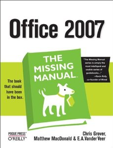 Office 2007: The Missing Manual (Paperback)-cover