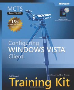 MCTS Self-Paced Training Kit (Exam 70-620) : Configuring Windows Vista Client (Hardcover)-cover