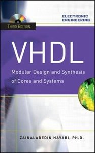 VHDL : Modular Design and Synthesis of Cores and Systems, 3/e (Hardcover)-cover