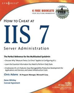 How to Cheat at IIS 7 Server Administration-cover