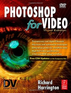 Photoshop for Video, 3/e (Paperback)-cover