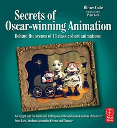 Secrets of Oscar-winning Animation: Behind the scenes of 13 classic short animations (Paperback)-cover