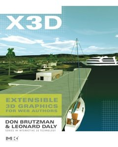 X3D: Extensible 3D Graphics for Web Authors (Paperback)-cover