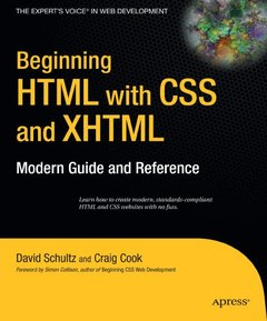 Beginning HTML with CSS and XHTML: Modern Guide and Reference-cover