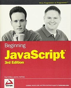 Beginning JavaScript, 3/e-cover