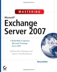 Mastering Microsoft Exchange Server 2007-cover