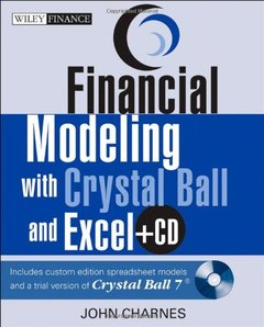 Financial Modeling with Crystal Ball and Excel (Paperback)-cover