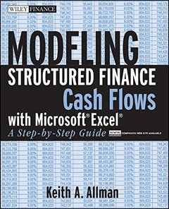 Modeling Structured Finance Cash Flows with Microsoft Excel: A Step-by-Step Guide (Paperback)-cover
