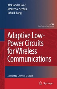Adaptive Low-Power Circuits for Wireless Communications (Hardcover)-cover
