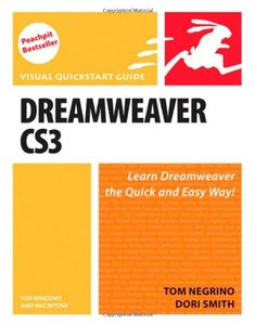 Dreamweaver CS3 for Windows and Macintosh (Visual QuickStart Guide)-cover