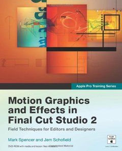 Apple Pro Training Series: Motion Graphics and Effects in Final Cut Studio 2 (Paperback)-cover