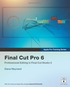 Apple Pro Training Series : Final Cut Pro 6 (Paperback)-cover
