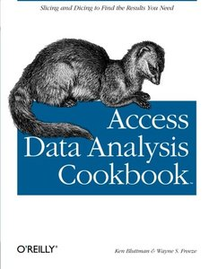 Access Data Analysis Cookbook (Paperback)-cover