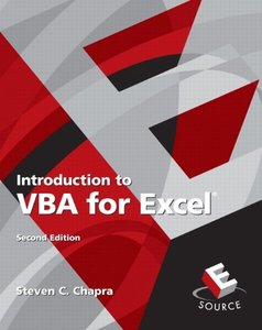 Introduction to VBA for Excel, 2/e (Paperback)-cover
