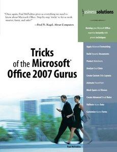 Tricks of the Microsoft Office 2007 Gurus, 2/e-cover