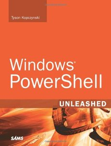 Windows PowerShell Unleashed (Paperback)-cover