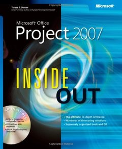 Microsoft  Office Project 2007 Inside Out (Paperback)-cover