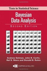Bayesian Data Analysis, 2/e-cover