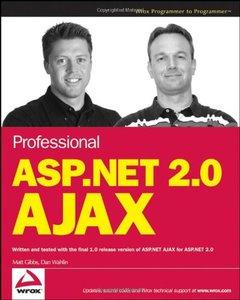 Professional ASP.NET 2.0 AJAX (Paperback)-cover