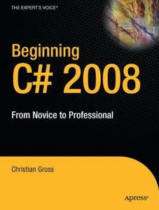 Beginning C# 2008: From Novice to Professional (Paperback)-cover