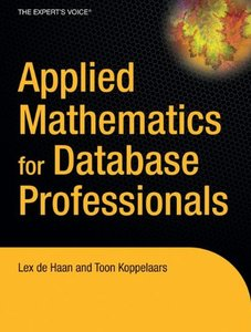 Applied Mathematics for Database Professionals-cover