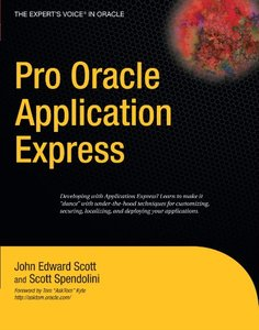 Pro Oracle Application Express-cover