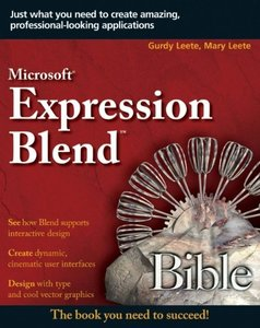 Microsoft Expression Blend Bible-cover