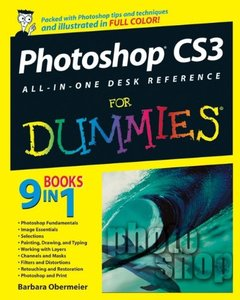 Photoshop CS3 All-in-One Desk Reference For Dummies (Paperback)-cover